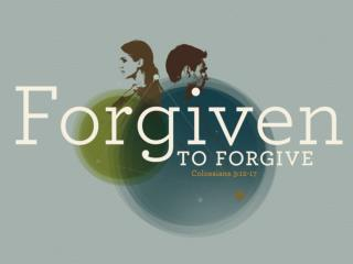 WE'VE BEEN FORGIVEN Psalm 32:1-5 Psalm 103:2-4, 8-13 John 1:29 Ephesians 1:7 1 Timothy 1:15-16