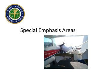 Special Emphasis Areas