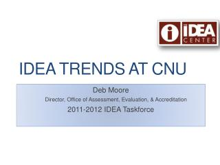 IDEA Trends at CNU