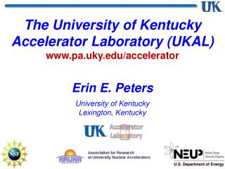 Erin E. Peters University  of Kentucky Lexington, Kentucky