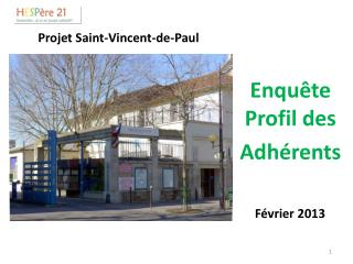 Projet Saint-Vincent-de-Paul