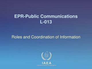 EPR-Public Communications L-013