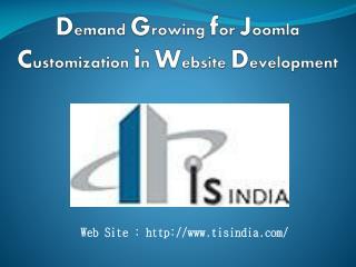Demand Growing for Joomla Customization in Website Development