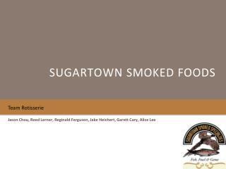 Sugartown smoked foods