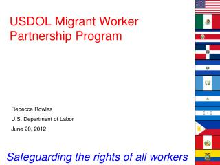USDOL Migrant Worker Partnership Program