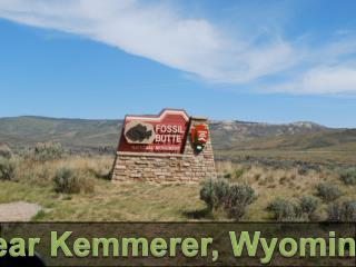 Near Kemmerer, Wyoming