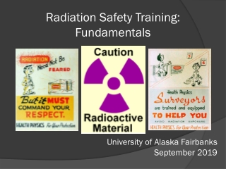 Radiation Safety Training: Fundamentals
