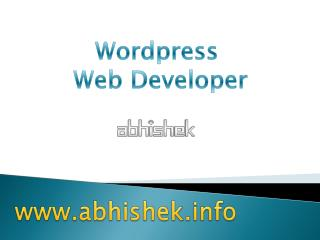 Wordpress Webdesign Solutions in India