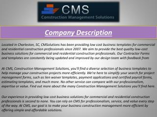 Construction Business Forms, G707A and AIA Forms | Contracto