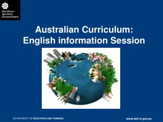 Australian Curriculum:  English information Session