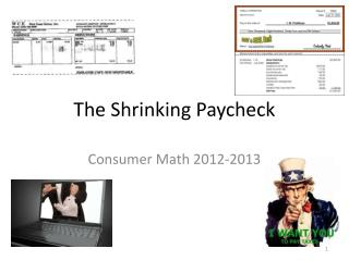The Shrinking Paycheck