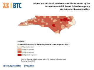Source:  Special Data  Request to the NC Division of Employment Security, June 2013.