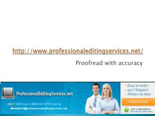 Professional Editing Services