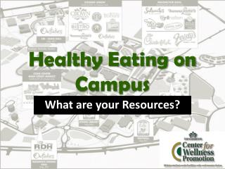 Healthy Eating on Campus