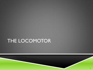 The Locomotor