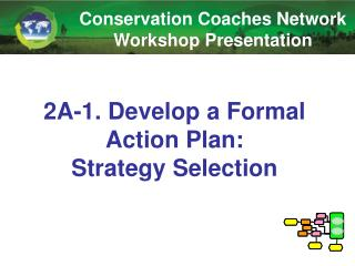 2A-1. Develop  a Formal Action Plan:  Strategy Selection