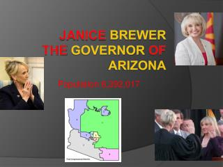 Janice Brewer the governor of Arizona