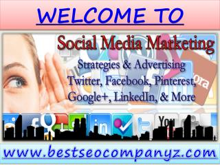 Get Legitimate and Professional Social Media Marketing
