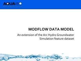 MODFLOW Data Model