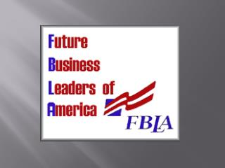 What is FBLA all about?
