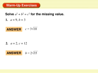 1. a = 9, b = 3