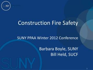 Construction Fire Safety