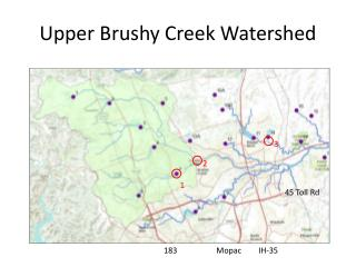 Upper Brushy Creek Watershed