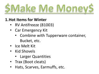 Hot Items for Winter RV Antifreeze (81003) Car Emergency Kit