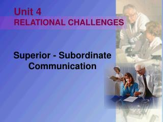 Unit 4 RELATIONAL CHALLENGES