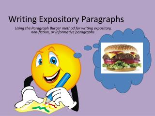 Writing Expository Paragraphs