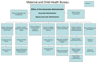 Maternal and Child Health Bureau