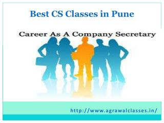 Best Classes for CS Final in Pune