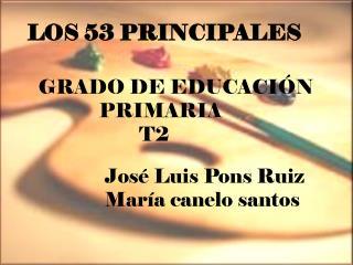 LOS 53 PRINCIPALES