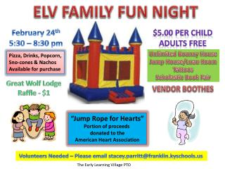 ELV FAMILY FUN NIGHT