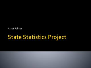 State Statistics Project