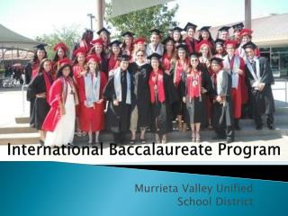International Baccalaureate Program