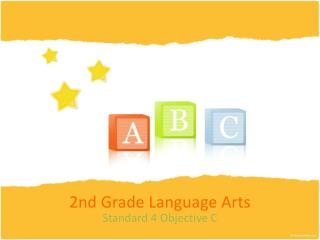 2nd Grade Language Arts