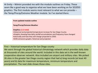 From updated module outline Temp/Precip/Extreme Weather Graphics:  (1-2 total)