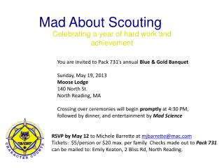 Mad About Scouting