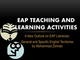 EAP Teaching and Learning Activities