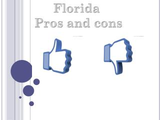Florida  Pros  and  cons