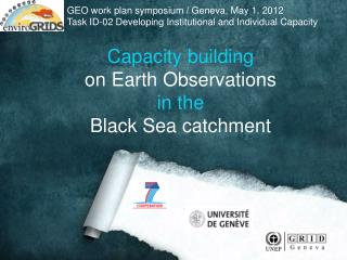 Capacity building on Earth Observations in the  Black Sea catchment