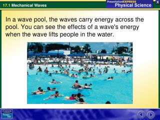 What causes mechanical waves?