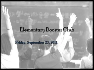 Elementary Booster Club