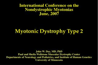 Myotonic Dystrophy Type 2