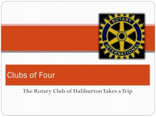 Clubs of Four