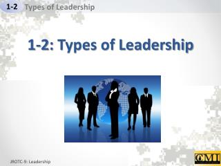 1 - 2 :  Types of Leadership