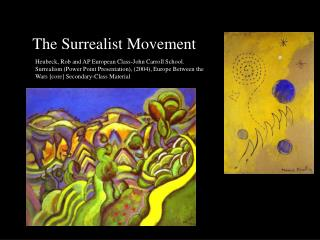The Surrealist Movement