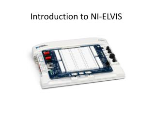 Introduction to NI-ELVIS