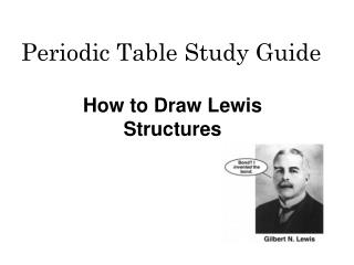 Periodic Table Study Guide